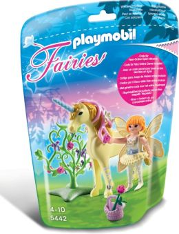 Playmobil Flower Fairy with Unicorn 'Sun Beam'