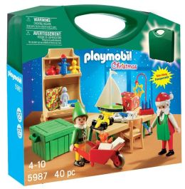 Playmobil Carrying Case Santa's Workshop 5987
