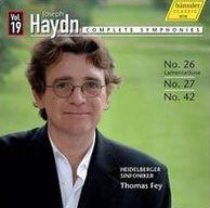 Haydn: Complete Symphonies, Vol. 19
