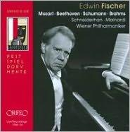 Edwin Fischer Plays Mozart, Beethoven, Schumann & Brahms