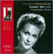 Schubert, Wolf: Lieder