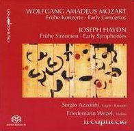 Mozart: Frühe Konzerte; Haydn: Frühe Sinfonien