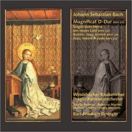 Bach: Magnificat; Singet dem Herrn ein neues Lied; Komm, Jesu, komm