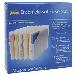 Cropper Hopper Vertical Paper Holder Value Pack-Frost 12