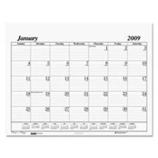 House of Doolittle HOD126 Desk Pad Refill- for 124- 12 Month- Jan-Dec- 22in.x17in.