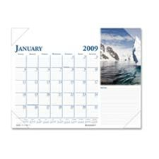 House of Doolittle HOD0144 Desk Pad- Compact- 12 Months- Jan-Dec- 18-.50in.x13in.