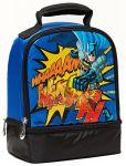 Product Image. Title: Kapow Batman Dual Compartment Lunch Bag