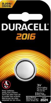 Duracell 2016 Button Battery 1PK