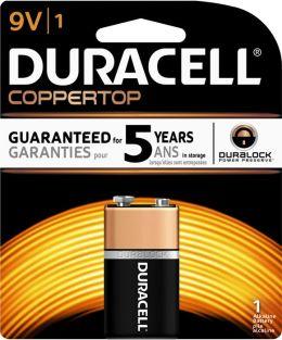 Duracell 9V 1PK Alkaline Batteries