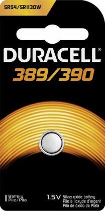 Duracell Usa 1.5 Volt Silver Oxide Duracell D389-390 Watch & Electronics Batter