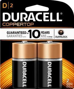 Duracell D 2PK Alkaline Batteries