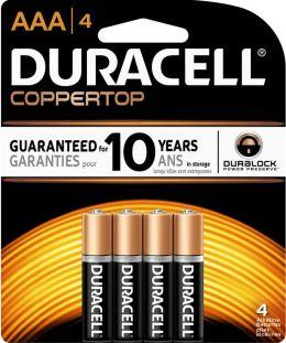 Duracell AAA 4PK Alkaline Batteries