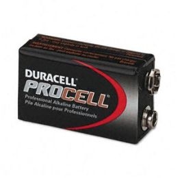 Duracell PC1604BKD Procell Alkaline Battery- 9V- 12/Box