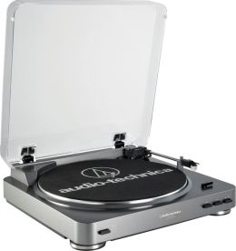 Audio Technica AT-LP60-USB Fully Automatic Stereo USB/Analog Turntable System