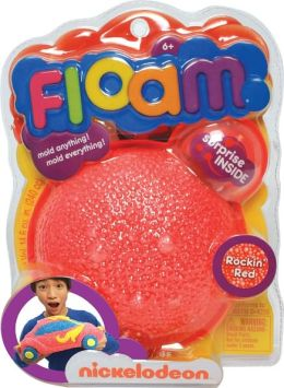 Nickelodeon Floam, Rockin Red