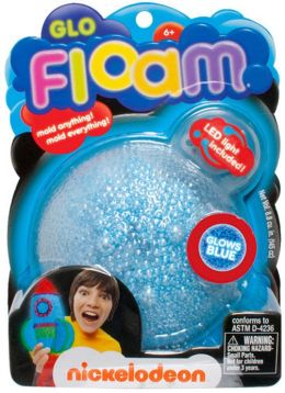 Glo Floam Glow in the Dark- Blue