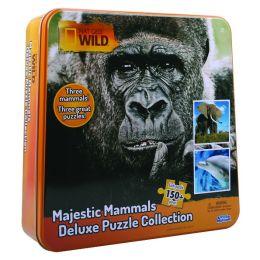 Nat Geo Wild Jigsaw Puzzle inTin (Majestic Mammals)