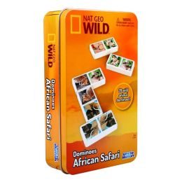 Nat Geo Wild Safari Animals Dominoes