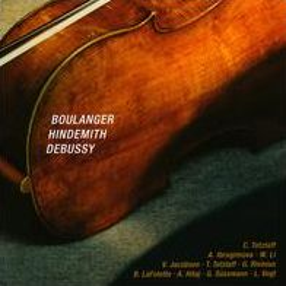 Boulanger, Hindemith, Debussy