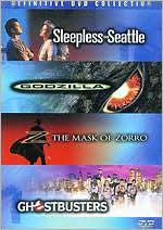 Sleepless in Seattle/Godzilla/the Mask of Zorro/Ghostbusters