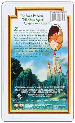 The Swan Princess III: The Mystery of the Enchanted Treasure