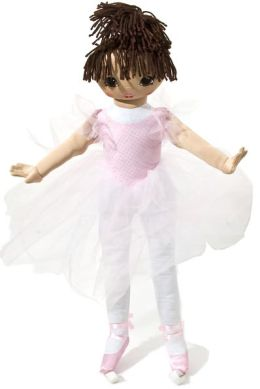 Well Made Dancing La Bella Ballerina 35 Inch Doll - Medium Skin Tone