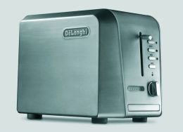 Delonghi CTH2003 2-Slice Toaster - Stainless Steel