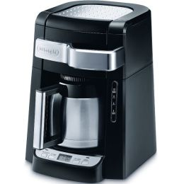 DeLonghi DCF2210TTC 10-Cup Thermal Carafe Drip Coffee Maker - Black