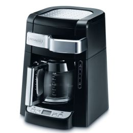DeLonghi DCF2212T 12-Cup Glass Carafe Drip Coffee Maker - Black