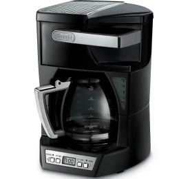 DeLonghi DCF212T Drip Coffeemaker with Convenient Front Access