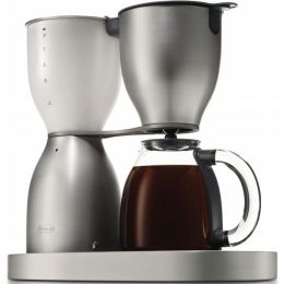 DeLonghi DCM900 Seamless Brushed Aluminum Body 10 Cup Coffee Maker
