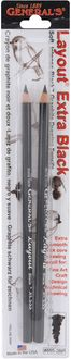 Layout Graphite Drawing Pencils 2/Pkg-2B