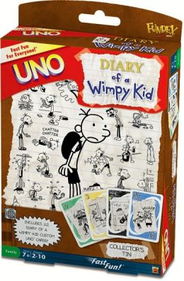 Diary of A Wimpy Kid UNO