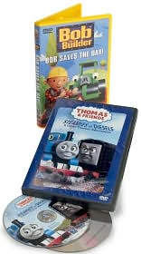 Thomas & Friends: Steamies vs. Diesels / Bob the Builder: Bob Saves The Day 2-Pack