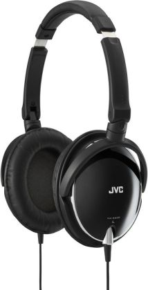JVC HA-S600 Lightweight Headphones - Black