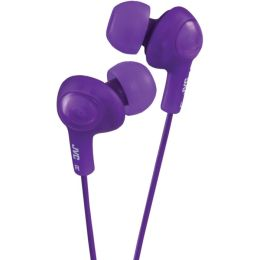 JVC Gumy Plus Earbuds with Mic - Violet