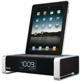 Ihome Ia100Zc Ipad - Tm/Iphone - R/Ipod App-Enhanced Alarm Clock With Bluetooth & Fm Radio