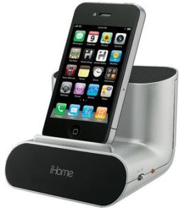 iHome Portable Speaker System - Silver