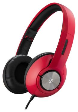 iHome iB45 On-Ear Foldable Headphones - Red