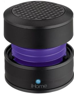 iHome iM60UT Rechargeable Mini Speaker - Purple