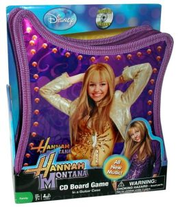 Hannah Montana CD Board Game