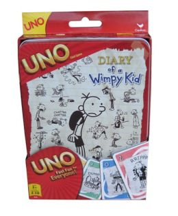 DIARY OF A WIMPY KID UNO GAME