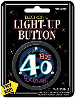 Electronic Light-Up Button 2.5