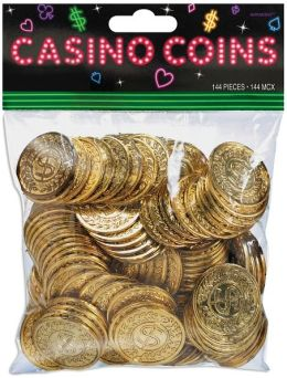 Casino Coins 144/Pkg