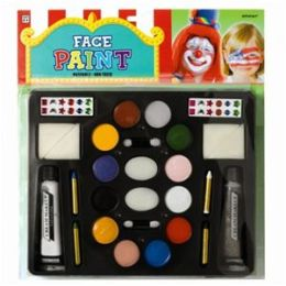 Amscan 201447 Deluxe Face and Body Paint Kit