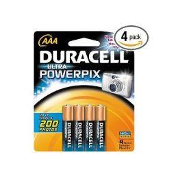 Duracell AAA Alkaline Batteries, 4-Pack