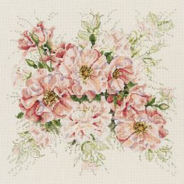 Garden Roses Counted Cross Stitch Kit-13