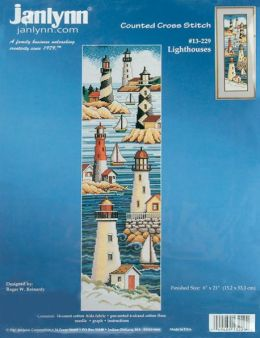 Lighthouses Counted Cross Stitch Kit-6