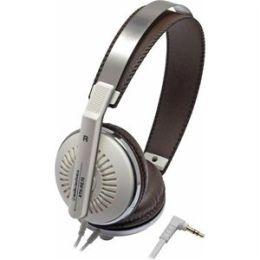 Audio-Technica White Closed-Back On-Ear Headphones