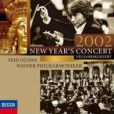 CD Cover Image. Title: 2002 New Year's Concert (Neujahrskonzert), Artist: Vienna Philharmonic Orchestra